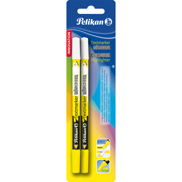 Carioca corectoare Highlighter+textmarker loscher, varf M, set 2