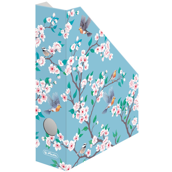 Suport dosare carton A4 motiv Ladylike Birds